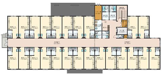 パルクフローラ 2階