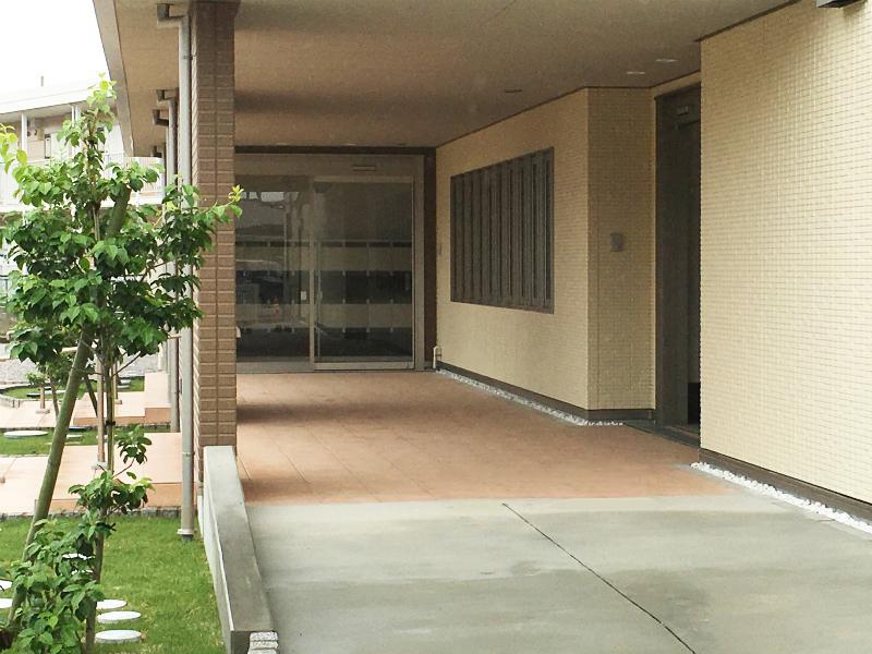 サービス付き高齢者向け住宅 パルクフローラ 外観